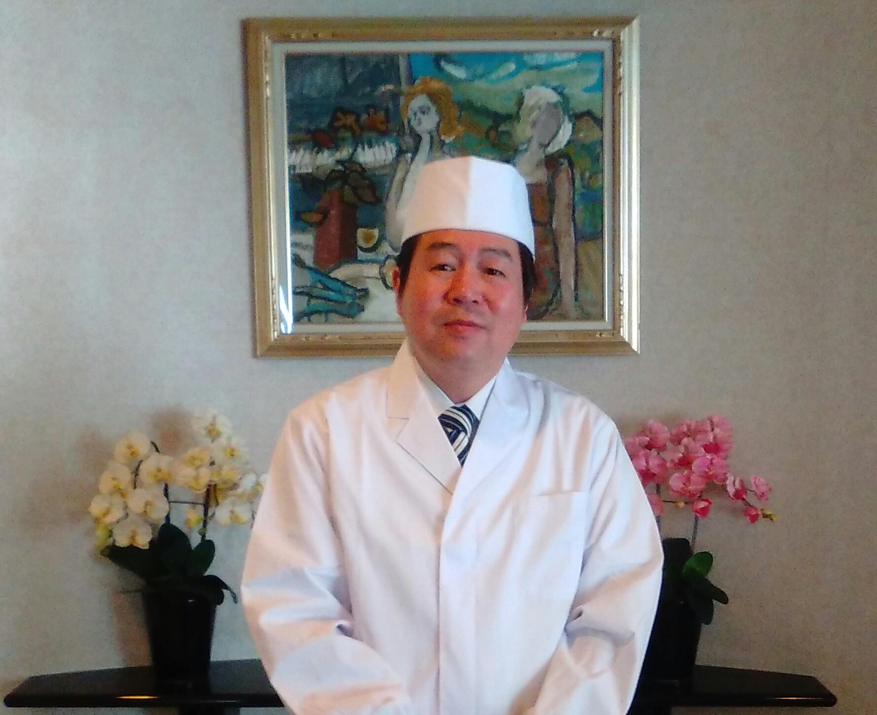 秋田横手温泉の料理長の紹介です
